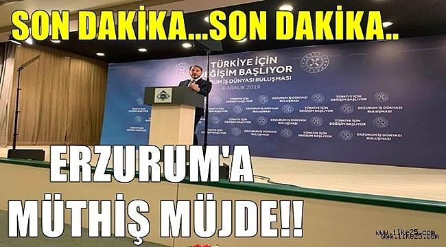 Erzurum'a 10 Fabrika Sözü!!