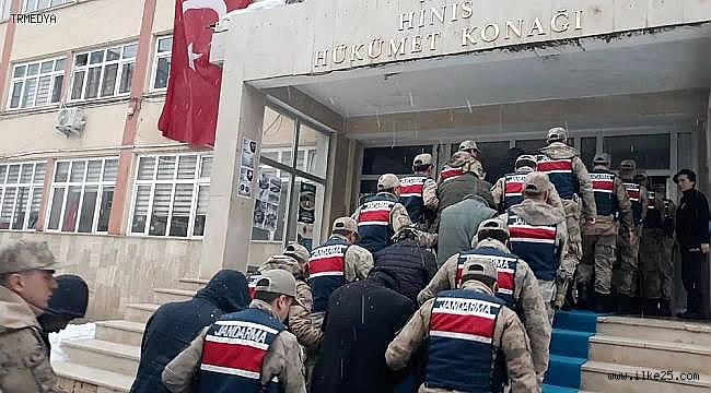 Erzurum'da Hırsızlık çetesi çökertildi