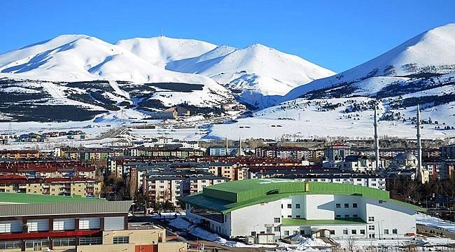 Merkez ilçelerde en yüksek nüfus artışı Palandöken'de gerçekleşti
