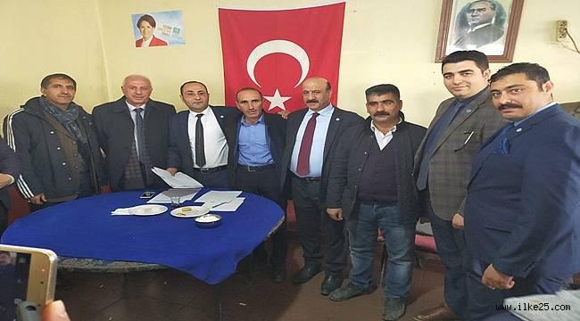 Karaçoban İlçe Başkanlığına Tahir Durmaz seçildi