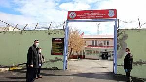 Erzurum Cezaevinde korona virüs tedbirleri artırıldı.