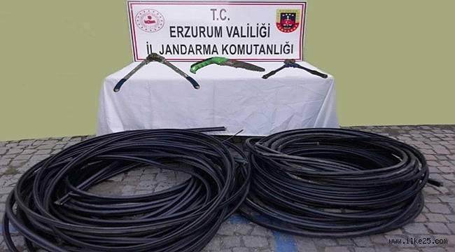 Erzurum'da Hırsızlara Suçüstü!