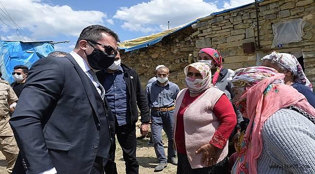 Erzurum Valisi Memiş incelemelerde bulundu