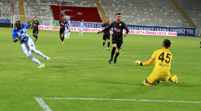 TFF 1. Lig: BB Erzurumspor: 1 Eskişehirspor: 0