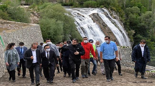 Tortum Şelalesi yarım milyon turiste ev sahipliği yapacak