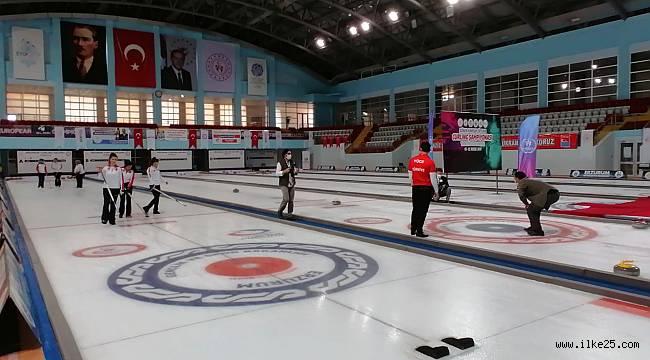Dünya Curling şampiyonası Erzurum'da yapılacak