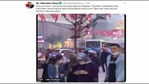 Sağlık Bakanı Koca, Erzurumspor taraftarını uyardı