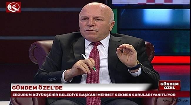 """Sekmen: """"BB Erzurumspor'un altyapısında dünya yıldızları yetişecek"""""""