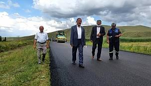 Sıcak asfalt yapımına başlandı