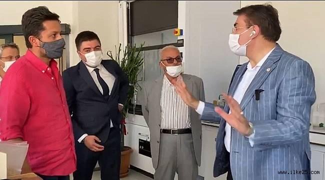Milletvekili Aydemir İl Sanayisinin nabzını tuttu