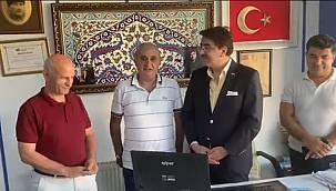 Aydemir'den İstanbul'da 'Erzurum istişaresi'