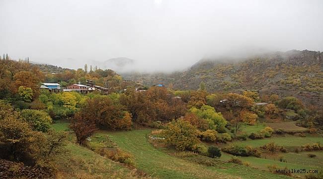 """Erzurum'da """"Köyümde Yaşamak İçin Bir Sürü Nedenim Var"""" projesi başladı"""