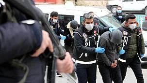 Erzurum Merkezli Uyuşturucu operasyonunda 15 tutuklama