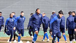 BB Erzurumspor, Hatayspor maçı hazırlıklarını tamamladı