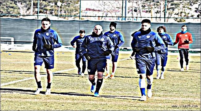 BB Erzurumspor, Sivasspor maçı hazırlıklarını sürdürdü