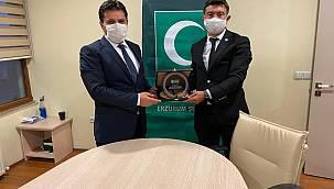 Yeşilay Erzurum Şube Başkanlığında Görev Değişimi