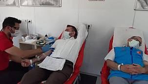 Erzurum Müftülüğünden Kızılay'ın kan bağışı kampanyasına destek