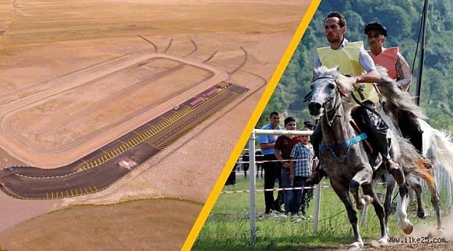 Erzurum'da Rahvan At Yarışları heyecanı