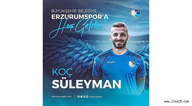 Süleyman Koç, BB Erzurumspor'da