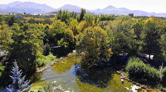 Erzurum sonbaharın renklerine büründü