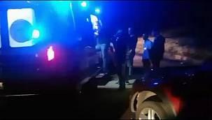 Virajı alamayan otomobil takla attı: 3 yaralı