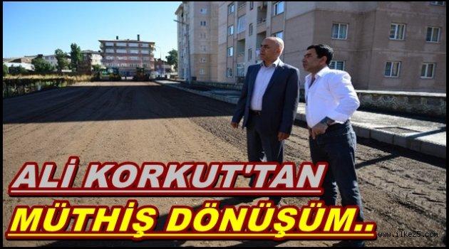 ALİ KORKUT'TAN,MÜTHİŞ DÖNÜŞÜM..