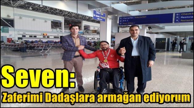 Avrupa Şampiyonu Gökhan Seven Memleketi Erzurum'da karşılandı
