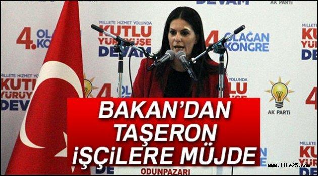 Bakan Sarıeroğlu'ndan taşeron müjdesi