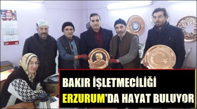 Bakır İşlemeciliği Erzurum'da yeniden hayat buluyor