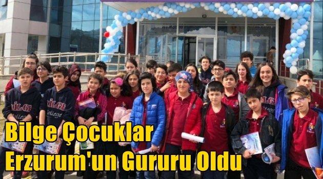 Bilge Çocuklar Erzurum'un Gururu Oldu