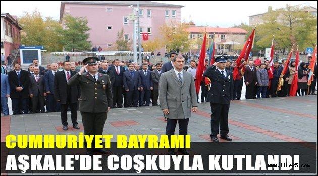 CUMHURİYET BAYRAMI AŞKALE'DE COŞKUYLA KUTLANDI