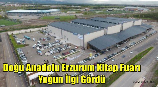 Doğu Anadolu Erzurum Kitap Fuarı Yoğun İlgi Gördü