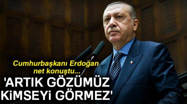 Erdoğan'dan Menbiç mesajı: 'Artık gözümüz kimseyi görmez'