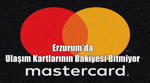 Erzurum'da Ulaşım Kartlarının Bakiyesi Bitmiyor