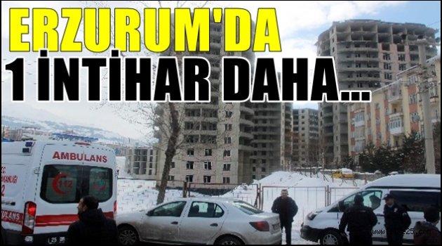 Erzurum'da 1 İntihar Daha..
