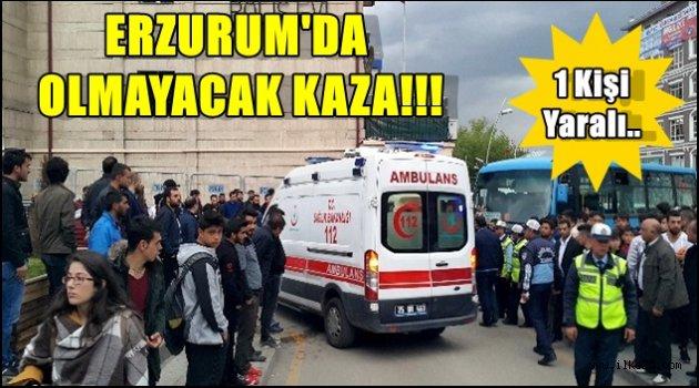 ERZURUM'DA  OLMAYACAK KAZA!!!