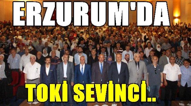 Erzurum'da Toki Sevinci!!