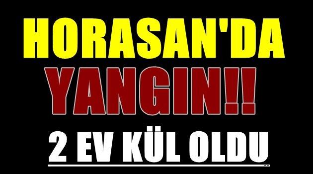Erzurum'da Yangın.