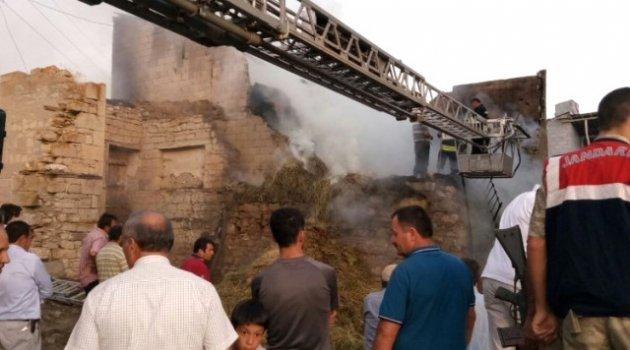 Erzurum'da Yangın!