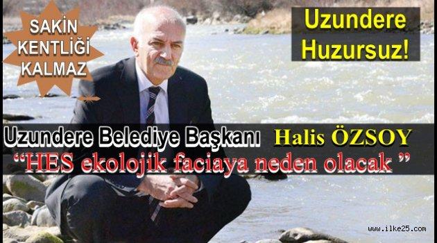 Erzurum'un Uzundere İlçesi'nde HES dendi 'huzur' gitti