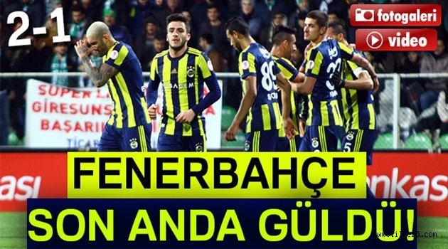 Giresunspor 1-2 Fenerbahçe