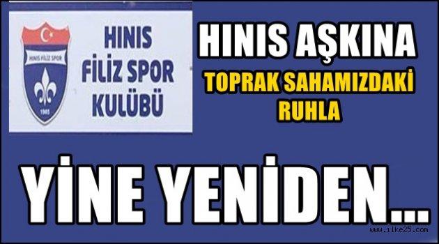 Hınıs Filiz Spor Kulübü Şahlanıyor..