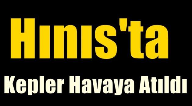 HINIS'TA KEPLER HAVAYA FIRLATILDI