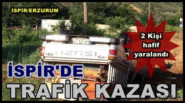 İspir'de Trafik Kazası!!