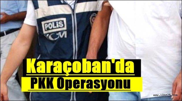 Karaçoban'da PKK Operasyonu