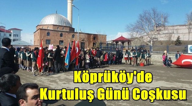 Köprüköy'de Kurtuluş Günü Coşkusu