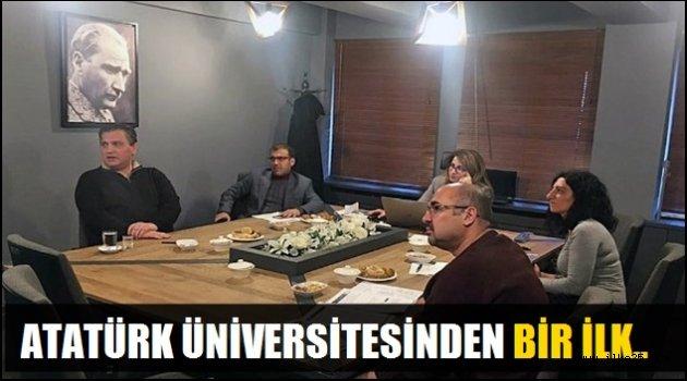 Atatürk Üniversitesinden Bir İlk...