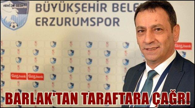Barlak'tan Ümraniyespor maçı öncesi taraftara çağrı