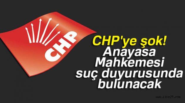 CHP'ye şok! Anayasa Mahkemesi suç duyurusunda bulunacak