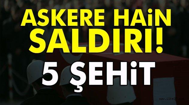 El Bab'da Türk askerine DEAŞ saldırısı: 5 şehit